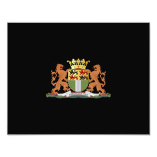 Coat of arms of Rotterdam Photo Print