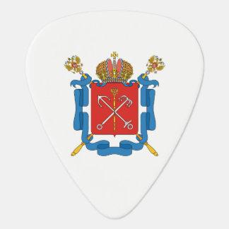 Coat of arms of Saint Petersburg Plectrum