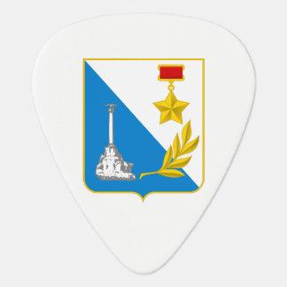Coat of arms of Sevastopol Plectrum