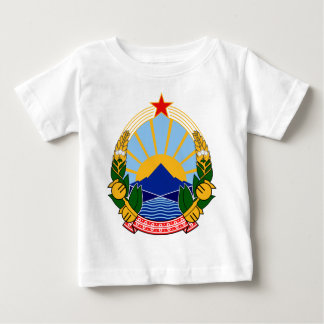 Coat of arms of SR Macedonia Baby T-Shirt