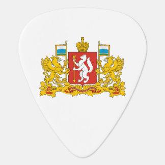 Coat of arms of Sverdlovsk oblast Plectrum