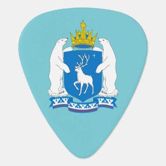 Coat of arms of  Yamal-Nenetsia Guitar Pick