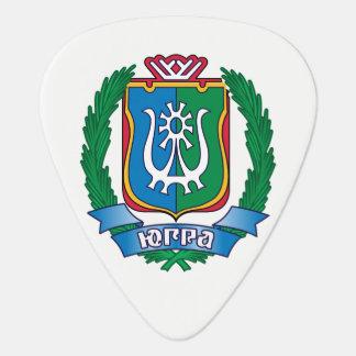 Coat of arms of  Yugra Guitar Pick
