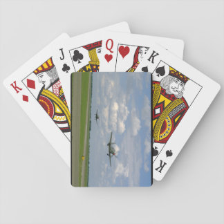 Cobra P63 And P39, Taking Off_WWII Planes Playing Cards
