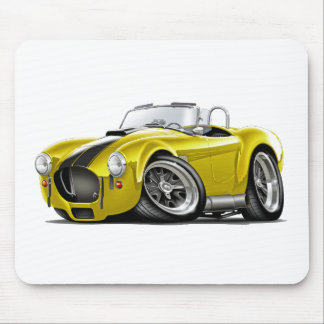 Cobra Yellow-Black Car Mouse Pad