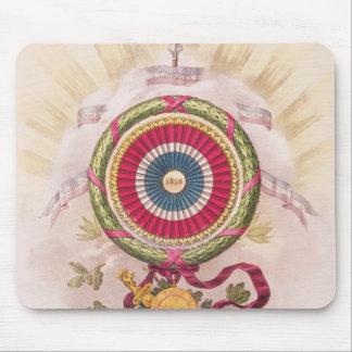 Cockade, emblem of 1848 mouse pad