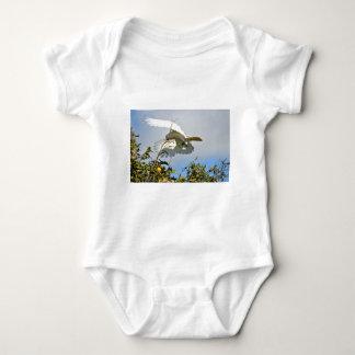 COCKATOO FLYING RURAL QUEENSLAND AUSTRALIA BABY BODYSUIT