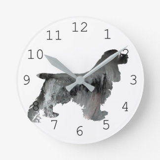 Cocker Spaniel Art Wall Clocks