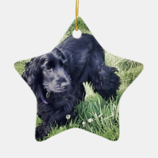 Cocker Spaniel Puppy Christmas Ornament
