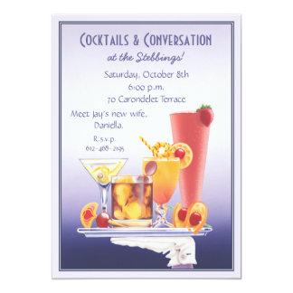 Cocktail © 13 cm x 18 cm invitation card