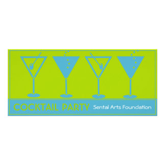 Cocktail Party-Fundraiser Invitation Rack Cards
