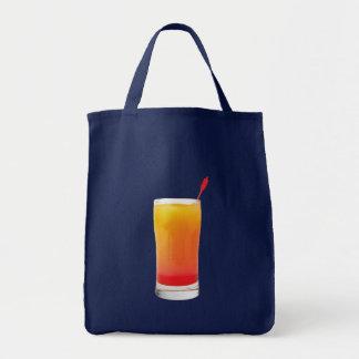 Cocktail Tequila Sunrise Canvas Bag