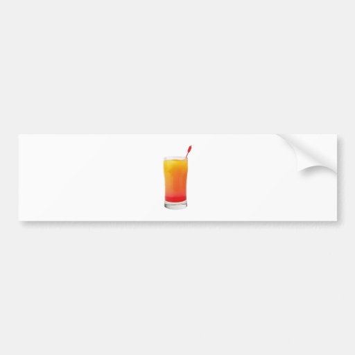 Cocktail Tequila Sunrise Bumper Stickers