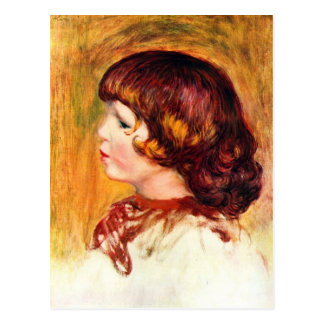 Coco by Pierre Renoir Postcard