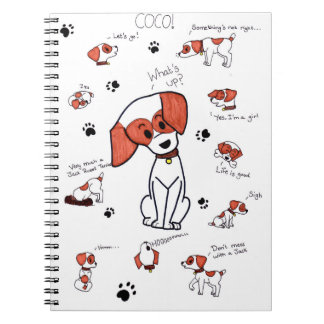 Coco the Jack Russell Terrier Note Books