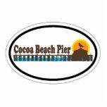 Cocoa Beach. Photo Sculpture Magnet
