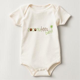 Coconutees Logo Organic Infant Creeper