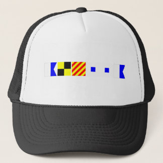 Code Flag Alyssa Trucker Hat