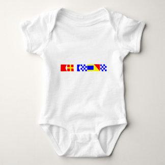 Code Flag Brandon Baby Bodysuit