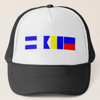 Code Flag Jake Trucker Hat