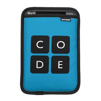 Code.org Logo Sleeve For iPad Mini