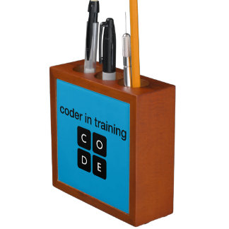 Coder In Training Pencil/Pen Holder