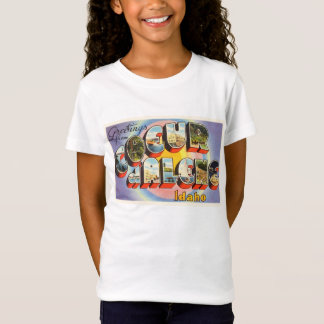 Coeur d'Alene Idaho ID Old Vintage Travel Souvenir T-Shirt