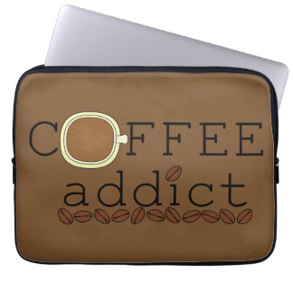 Coffee Addict Beans - Choose Color Laptop Sleeve