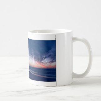 Coffee and a sunset coffee mug