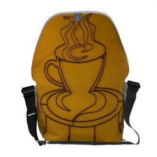 Coffee and Cream Rickshaw Messenger Bag