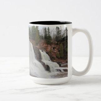 Coffee at Gooseberry falls Two-Tone Mug