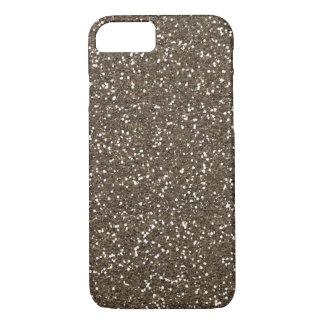 Coffee Bean Faux Glitter iPhone 8/7 Case