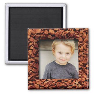 Coffee Bean Photo Personalized Gift Magnet