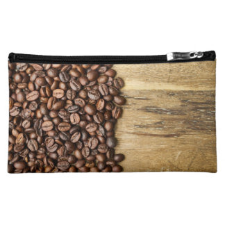 Coffee Beans Bag, Roasted for Foodies Makeup Bag