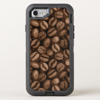 Coffee beans OtterBox defender iPhone 8/7 case