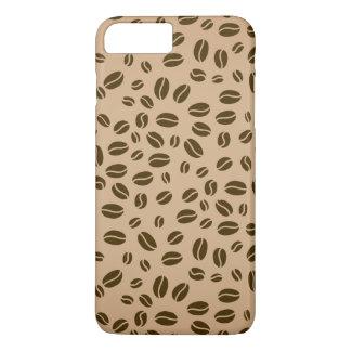 Coffee beans seamless pattern iPhone 8 plus/7 plus case