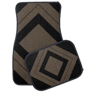 Coffee Brown Velvet Personalized Home Casino Floor Mat