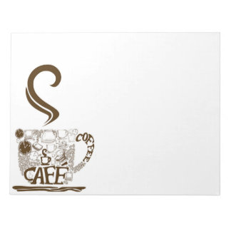 Coffee Cafe Notepad