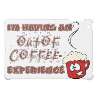 Coffee / Caffeine Addiction and Withdrawal iPad Mini Case