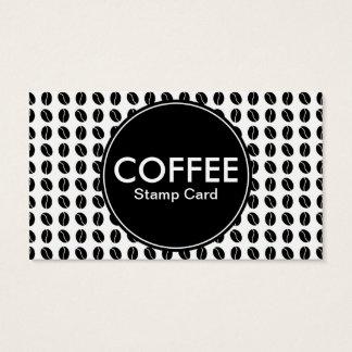 coffee center stamp card