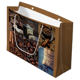 Coffee Chocolate Candy Gift Bag - Large