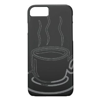 Coffee Cup Graphic Art iPhone 7 Case