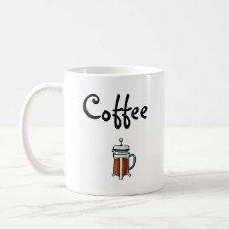 Coffee (Great for lefties) Basic White Mug