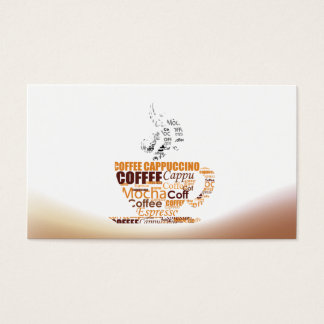 Coffee House Cafe Restaurant Business Card - Mug