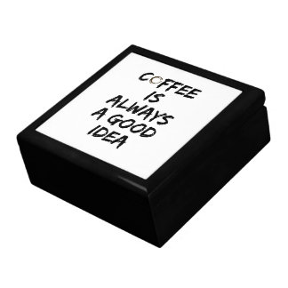 Coffee Is Always a Good Idea - Coffee Stain Gift Box