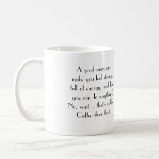 Coffee is the answer coffee mug