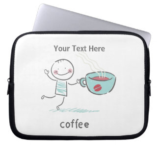 Coffee Love Laptop Sleeve