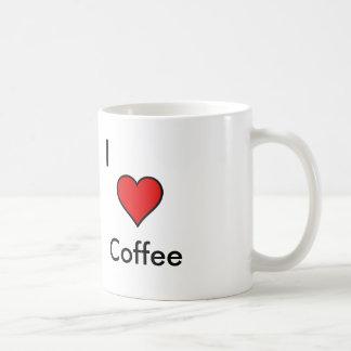 Coffee lover basic white mug