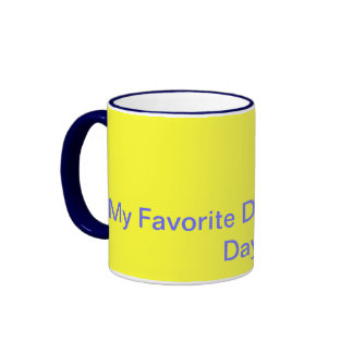 Coffee Lover Ringer Mug