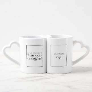 Coffee Lovers Coffee Mug Set